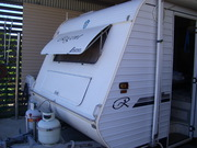 20 ft Caravan,  Shower and Toilet in Childfers.