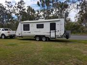Off Road Gaxaxy caravan 22ft