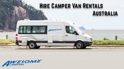 Rent a campervan in Melbourne,  Adelaide,  Brisbane