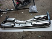 Mercedes Benz W110 ,  W100 Stainless Steel Bumpers