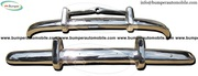 Volvo PV 444 (1947-1958) bumpers stainless steel