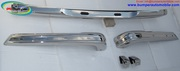 BMW E21 bumper kit in stainless steel