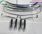 VW Beetle USA style bumper in stainless steel