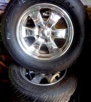 Tires and Rims to suit  2 Wheel drive F100 Truck.
