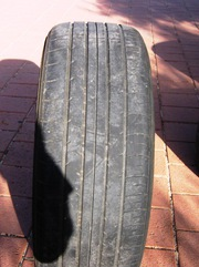 4 used tyres for trailer
