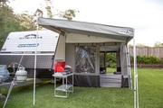 Caravan Awning Porch - Xtend Outdoors