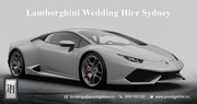 Lamborghini Wedding Hire Sydney